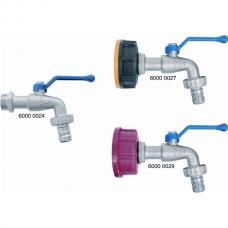 Metal-Ball Valve for Barrels and Canisters