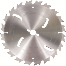 Circular Saw Blades with Internal HM Scrapers