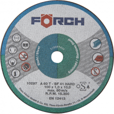 Cutting Discs Steel/Stainless Steel
