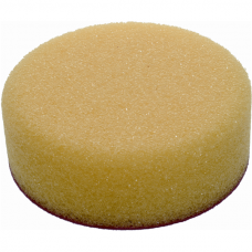 Polishing Foam Pad – Flat, Yellow - Velcro