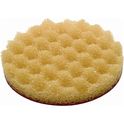 Polishing Foam Pad – Honeycomb, Yellow - Velcro