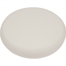 Polishing Pad, White Sponge, Velcro