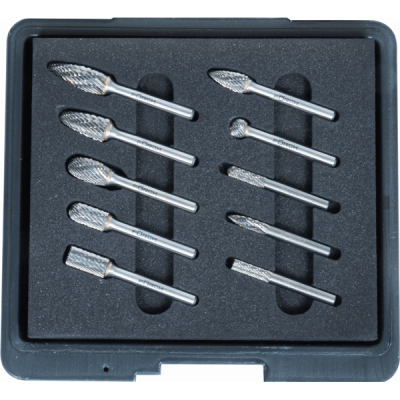 Carbide Coated Burr Set 10-pcs