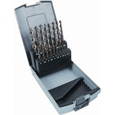 Twist Drill Set 'Bullet' DIN 338 HSS, Ground