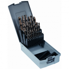 Twist Drill Set DIN 338 HSS-E-Cobalt