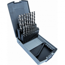 Twist drill set DIN 338 HSS-E Co8%, polished