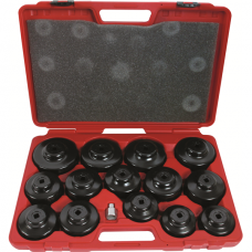 Oil Filter-Release Caps-Set, 15-Piece