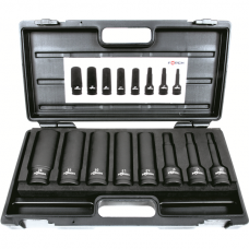 Universal shaft socket wrench set 3/4""