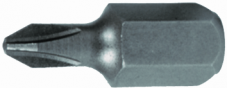 Bit Cross Slot, 10 mm-Shaft
