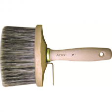Oval flat brush