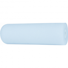 Superfine foam roller, rounded surface