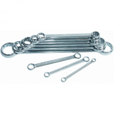 Double Ring Spanner Set, Straight