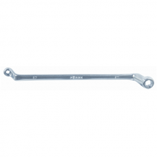 Torx cranked double-end box wrench