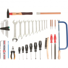 Metal apprentice tool set, 38 pce.