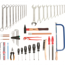Metal professional tool set, 49 pce.
