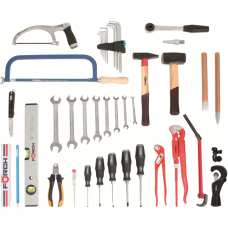 Tool Assortment Sanitary Profi, 41-piece