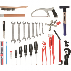 Tool Assortment Sanitary, 26-piece