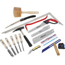 Trainee Carpenter, Assorted Tools, 19 pieces