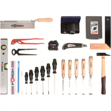 Wood professional tool set, 123 pce.
