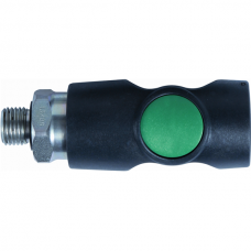 Safety Coupling Push-button outside hose thread DK