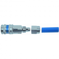 Compressed Air Coupling for Spiral Hose PUR