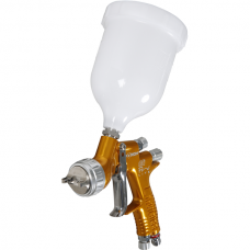 'Lite' paint spray gun for base and clear varnish