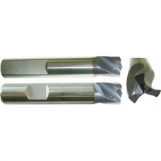 Solid Hard Metal Weld Point Cutter with 3 Cutters