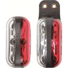 LED clearance lights Pro-Jet, red/white