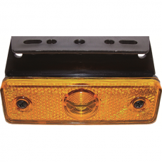Side Marker Light LED Flatpoint, Yellow