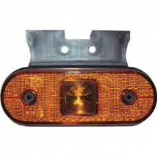 Side Marker Lights LED Unipoint Angle, Yellow