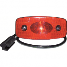 Tail / Clearance Lamp LED Plug, Red
