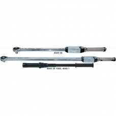 Torque wrench with ratchet