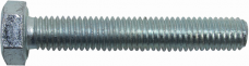 Hex Head Bolts DIN 933 8.8, Galvanized in Box 2