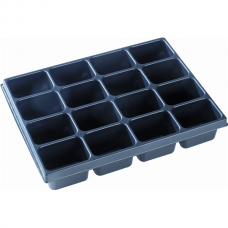 Thermoformed insert, 16 compartments, VAROiBOXX