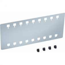 VAROBOXX 3 slot pass partition plate, short