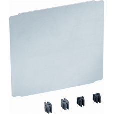 VAROBOXX 4 pass partition plate, short