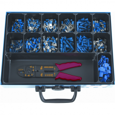 Cable Connectors, Blue Insulated in Assortment