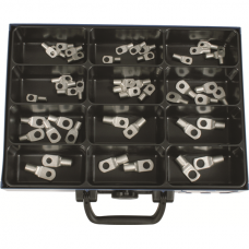 Cable Terminal with Check-Hole in Assortment