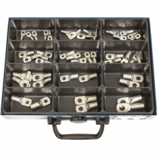 Crimping Lugs with Check-Hole in Assortment
