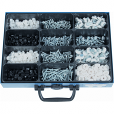 Numberplate Screws and Caps in Assortment