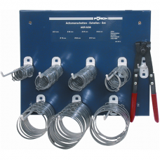 Rubber Boot Clamp Set