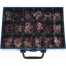 Sealing Rings 7603 A, Copper, Assortment