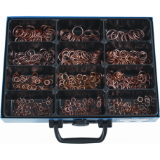 Sealing Rings DIN7603 C, Copper Filled, Assortment