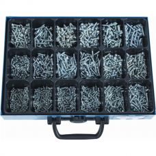 Sheet Metal Screws DIN 7981, GA, Assortment