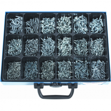 Sheet Metal Screws DIN7981/7983, GA, Assortment