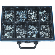 Steel Cable Clips DIN 72571, Galvanised