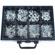 Washers DIN 125 B, Galvanized in Assortment