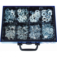 Washers DIN 125 Shape A, Galvanized in Assortment