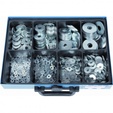 Washers DIN 9021, Galvanized, Assortment