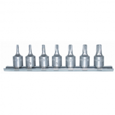 Socket Set 5 Star, 1/4